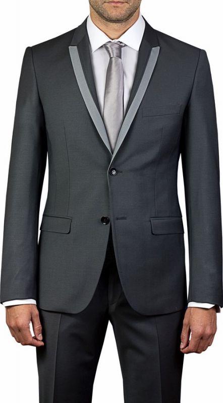 costume de mariage gris anthracite vente robes de mari e et costumes de mari saint mitre. Black Bedroom Furniture Sets. Home Design Ideas