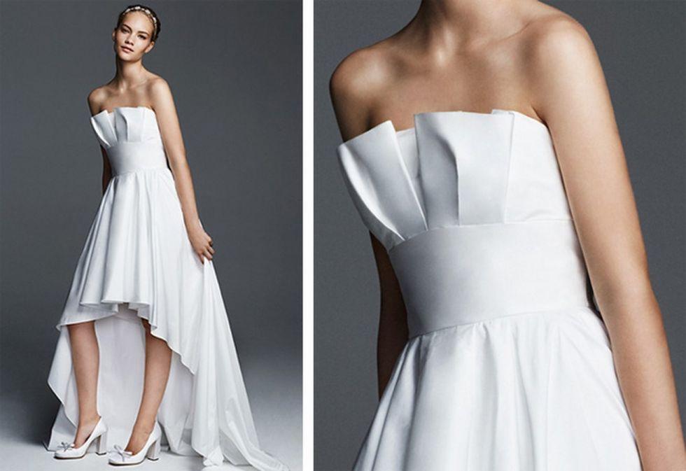 Robe de mariée courte devant longue derrière - Robe de mariée et ...