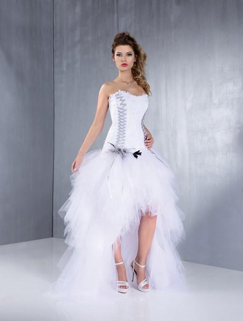 robe de mariée courte et transformable - Robe de mariée et costumes ...